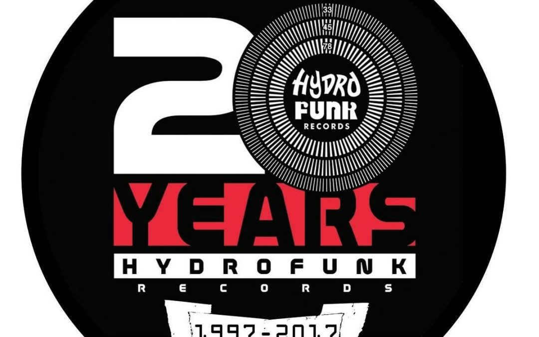 20 Years of Hydrofunk Vinyl and merch now available